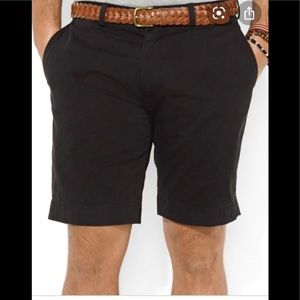 Polo by Ralph Lauren Classic Fit Black Shorts 35